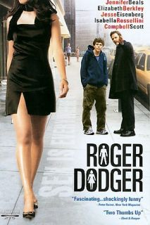 Roger Dodger (DVD, 2003) Elizabeth Berkley BRAND NEW FACTORY SEALED!!!