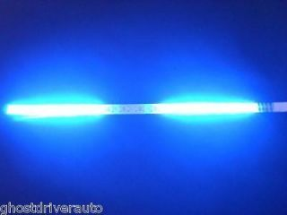 Knight Rider LED Scanner Decoration Strobe Flash Strip Light Blue