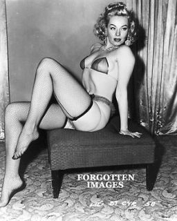 lili st cyr pin up photograph returns accepted within 14