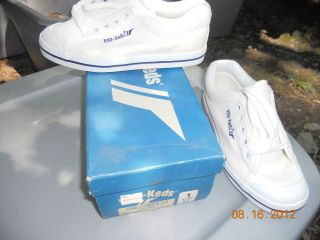 Pro Ked vintage men sneakers shoes deadstock new old canvas pick size