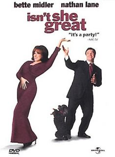 DVD ISNT SHE GREAT   (Comedy)   (Nathan Lane/Bette Midler)   FUNNY