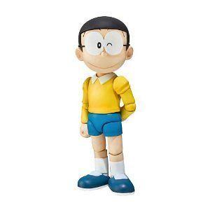 New Bandai Doraemon S.H.Figuarts Nobi Nobita 4 PVC Action Figure