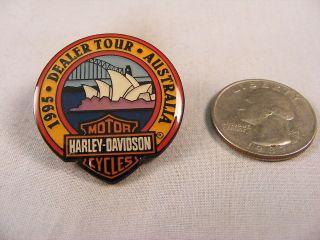 HARLEY DAVIDSON 1995 DEALER TOUR SYDNEY AUSTRALIA OPERA HOUSE PIN