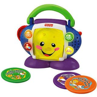 newly listed fisher price laugh learn cd player # zts