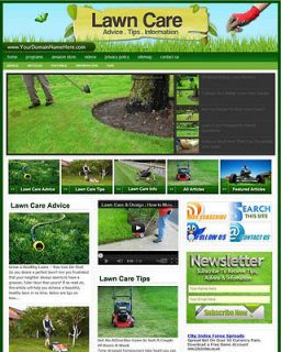 Established LAWN CARE Website For Sale.(Websi​tes By SITEGAP)