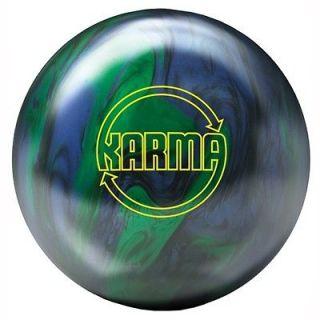 KARMA Blue/green BOWLING ball 16 lb. $159.95 BRAND NEW IN BOX