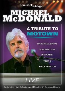 Soundstage   Michael McDonald A Tribute to Motown   Live DVD, 2009
