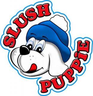 slush machine sticker for catering vans etc from united kingdom