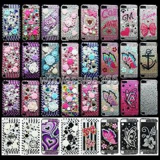 Bling Crystal Diamond Rhinestone Case Cover For Apple Ipod Touch 5 5G