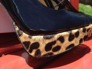 New Women Steve Madden Jaagg Heels Pumps Black Patent Red Multi