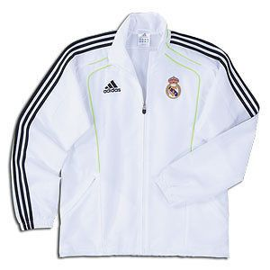 ADIDAS REAL MADRID PRESENTATION JACKET AND POLO SHIRT SET SPAIN 2010