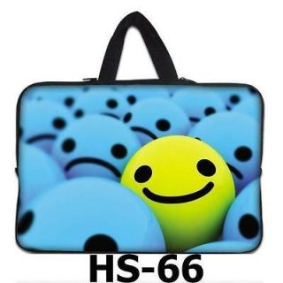 Smile Face 17 Laptop Bag Case + Handle For Dell Inspiron / Dell