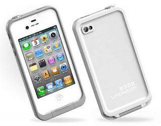 life proof iphone 4 4s case white