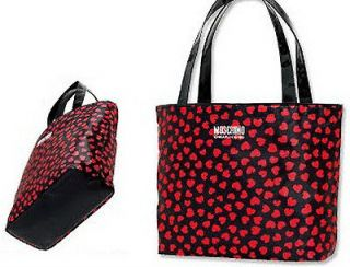 new japanese magazine appendix moschino red shoulder bag