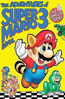 Adventures Of Super Mario Bros 3   The Complete Series DVD, 2007, 3