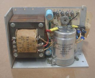 power mate regulated power supply used 5vdc 11amp one day
