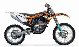 KTM SX Factory Graphic Kit 2011 12 125 500 SX/SX F/XC, 2012 XC W/EXC