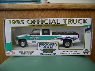 Dale Earnhardt Brickyard 400 1995 Winner Chevrolet Crew Cab Dually GM