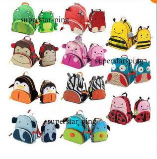 Backpacks Animal Schoolbag/Lunch Box For Child Boy Girl Toddlers