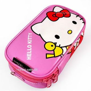 Pink Hello Kitty Soft Game Case Bag Pouch For Nintendo 3DS DSi LL XL