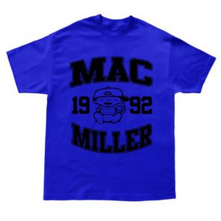 Mac Miller T shirt most dope high life wiz khalifa tees Crewneck
