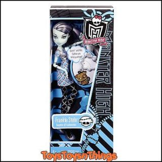 monster high classrooms frankie stein doll new in box time