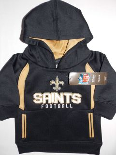 NWT boys girls New Orleans Saints hoodie sweatshirt jacket size 6 9