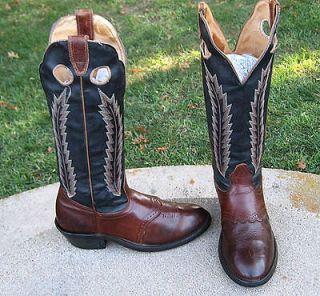 cowboy tall buckaroo western boots men s 8 e