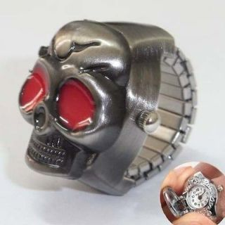 newly listed mens party jewelry skull cover punk finger ring