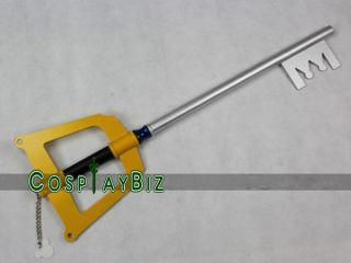 Kingdom Hearts Sora Kingdom Key Keyblade Cosplay Weapon Prop 34