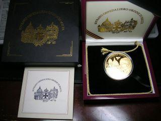 2004 KNIGHTS of MALTA PROOF Gold John Paul II GOLD 5 troy oz 50000