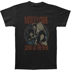 MOTLEY CRUE Shout 83 Photo S M L XL tee t Reissue Shirt NEW