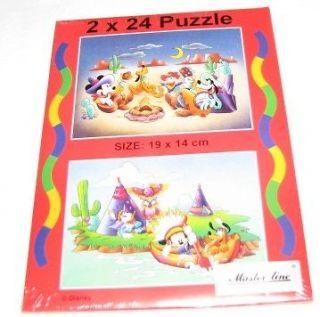 Puzzle Mickey Mouse Pluto Goofy Goof Scrooge McDuck, Donald Duck