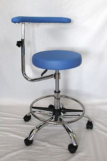 Newly listed MEDICAL DENTAL ASSISTANTS STOOL/CHAIR W/FOOTRING BLUE