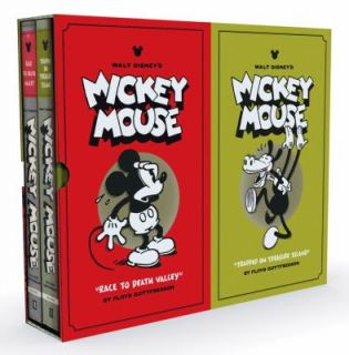 Walt Disneys Mickey Mouse Set by Floyd Gottfredson 2011, Hardcover