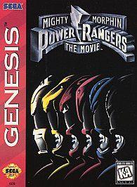 Mighty Morphin Power Rangers The Movie Sega Genesis, 1995