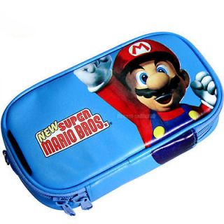 Super Mario Soft Game Case Bag Pouch For Nintendo 3DS NDSi DSi XL LL