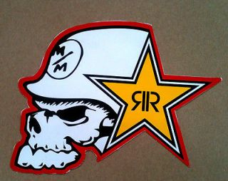 Metal Mulisha STICKER racing motocross suzuki yamaha Rockstar Fox