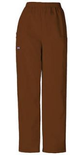 Cherokee Workwear Womens Scrubs Pants Chocolate 4200 CHCW FREE