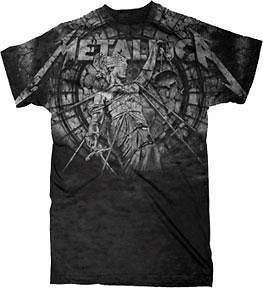Metallica Justice Stone Heavy Metal Officially Licensed Adult T Shirt