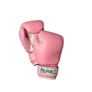 New ProForce Womens Pro Style MMA Muay Thai Sparring Boxing Gloves 10