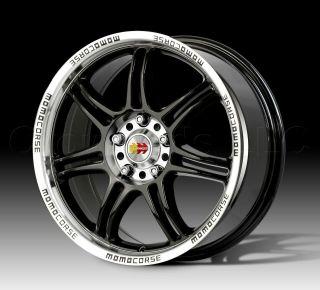 MOMO Car Wheel Rim RPM Black 17 inch 4 on 100/4.5   Part # RP75741442B