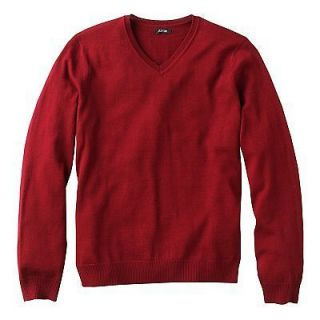 New NWT Mens APT 9 Merino Wool blend V Neck SWEATER MSRP $60 NICE