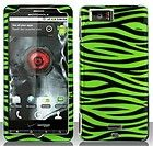 Motorola DROID X2 MB870 PURPLE LOVE Faceplate Protector Phone Case