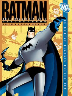 Batman The Animated Series   Vol. 4 DVD, 2005, 4 Disc Set