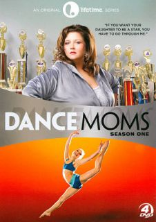 Dance Moms Season One (DVD, 2012, 4 Dis