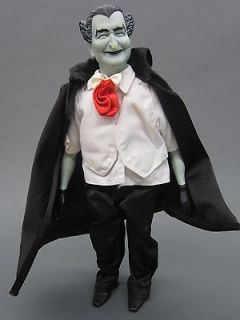 Vintage Grandpa munster 1964 doll action figure vampire guy used the