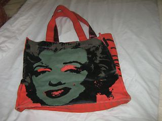 marilyn monroe andy warhol loop tote bag