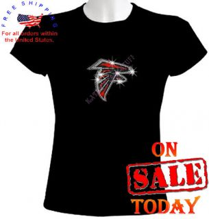 RHINESTONE T SHIRT sexy bling cute nfl black football ryan white