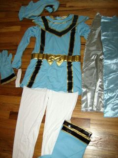 Store Blue Power Ranger Rangers Mystic Force Costume Girls L 10/12